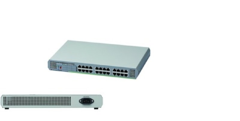 Allied Telesis AT-GS910/24-50 - 24 Port Unmanaged Gigabit Ethernet Switch (10/100/1000)