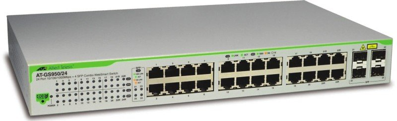 Allied Telesis AT-GS950/24-50 - 24 Port Managed Ethernet Switch