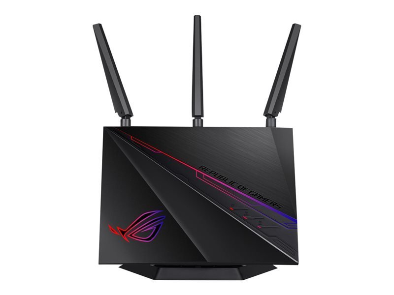 ASUS ROG Rapture GT-AC2900 - Wireless Router - 802.11a/b/g/n/ac - Desktop, Wall-mountable