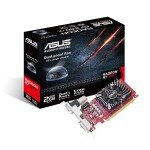 EXDISPLAY Asus Radeon R7 240 2GB GDDR5 Low Profile Graphics Card