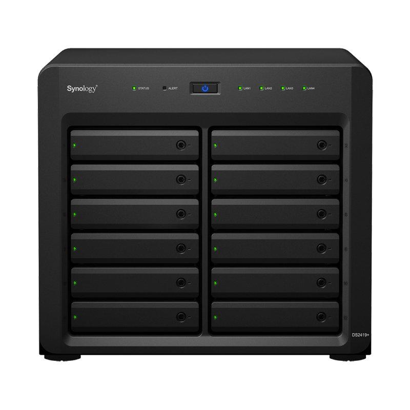 Synology Disk Station DS2419+ - 12 Bay - NAS server -  GB
