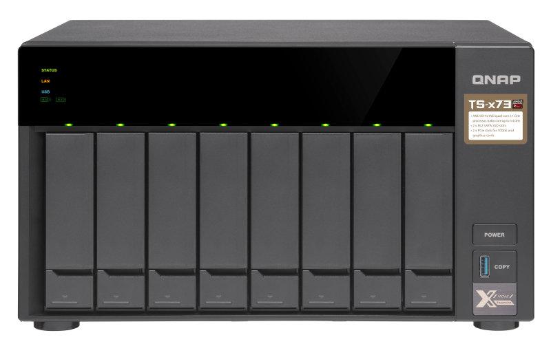 QNAP TS-873-4G/32TB-IW - Ethernet LAN Tower - 8 Bay - NAS