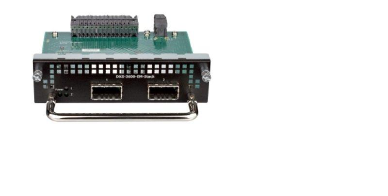D-Link - Expansion Module - 2 Ports - For DXS-3600-32S with CXP Interface