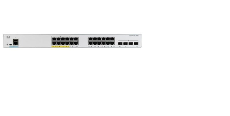 Cisco Catalyst 1000-24P-4X-L - Switch - 24 Ports - Managed - Rack-mountable