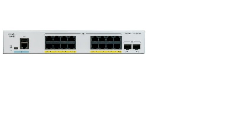 Cisco Catalyst 1000-16FP-2G-L - Switch - 16 Ports - Managed - Rack-mountable