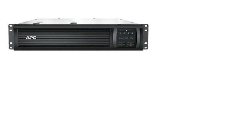 APC Smart-UPS 750VA LCD RM - UPS Rack-mountable 2U - 500 Watt - 750 VA - With APC UPS Network Management Card