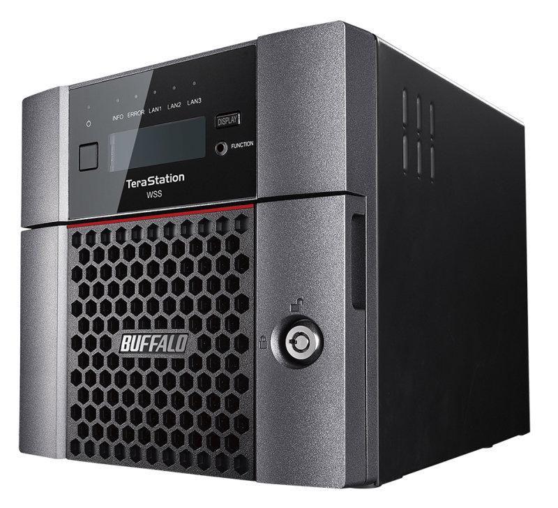 Buffalo TeraStation WS5220DN08W6EU - Ethernet LAN - Desktop NAS