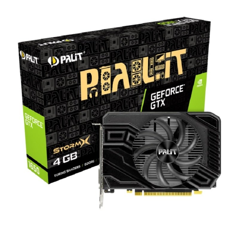 Palit GeForce GTX 1650 StormX D6 4GB Graphics Card