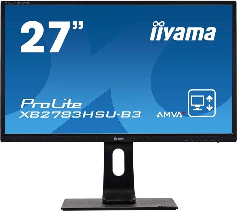 Image of iiyama ProLite XB2783HSU-B3 27'' Full HD LED Monitor