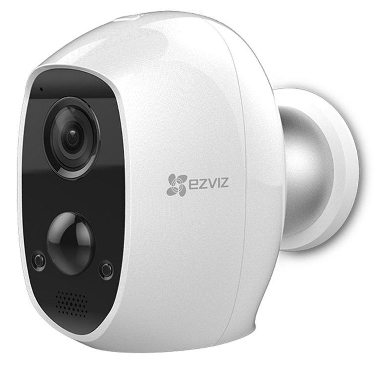 EZVIZ C3A Indoor/Outdoor Battery Camera - Works with Alexa and Google Assistant