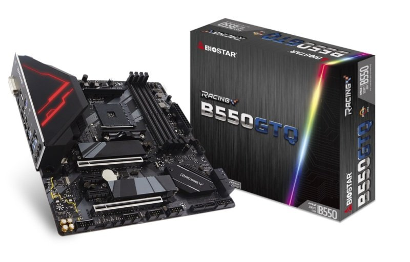 Biostar B550GTQ AMD AM4 mATX Motherboard