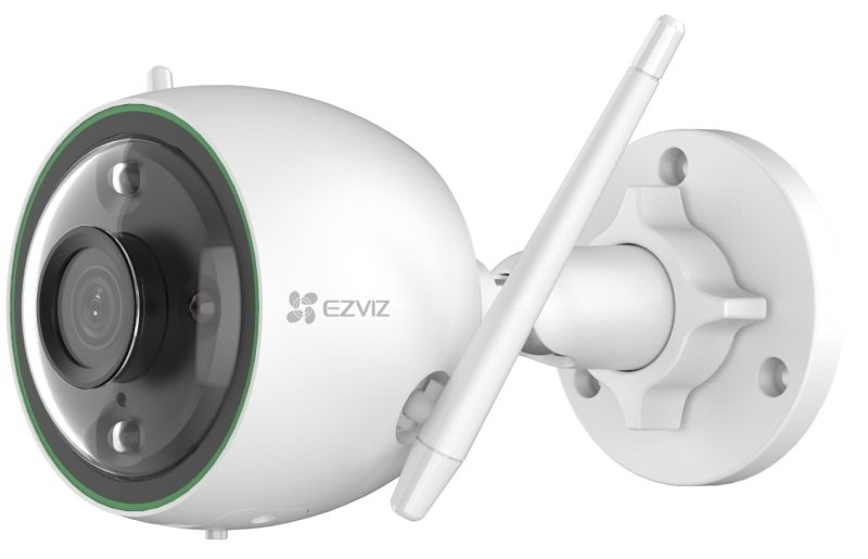 Image of EZVIZ C3N Outdoor Camera with Colour Night Vision AI Human Detection - Works with Alexa and Google Assistant