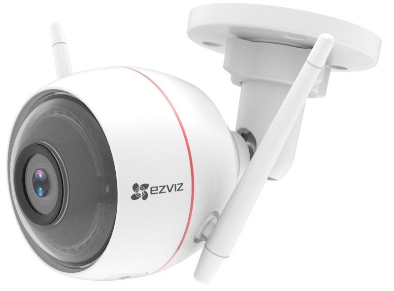 EZVIZ C3W Outdoor Camera, With Siren & Strobe Light - Works with Alexa and Google Assistant