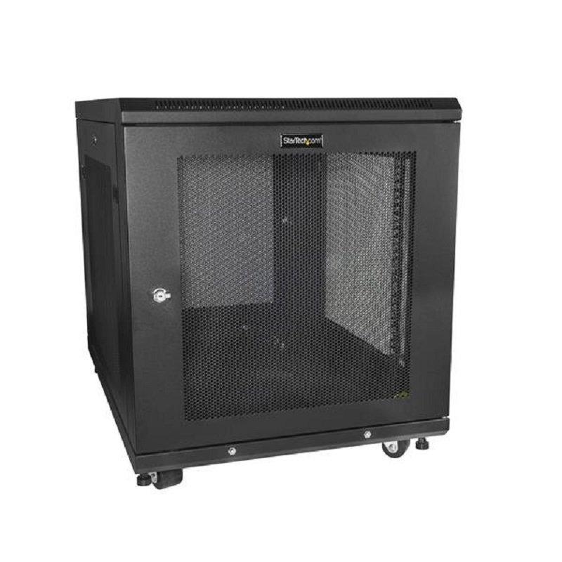 StarTech Server Cabinet/Network Rack Cabinet - 12U - 19'' - 4 Post Adjustable Depth 2-30''