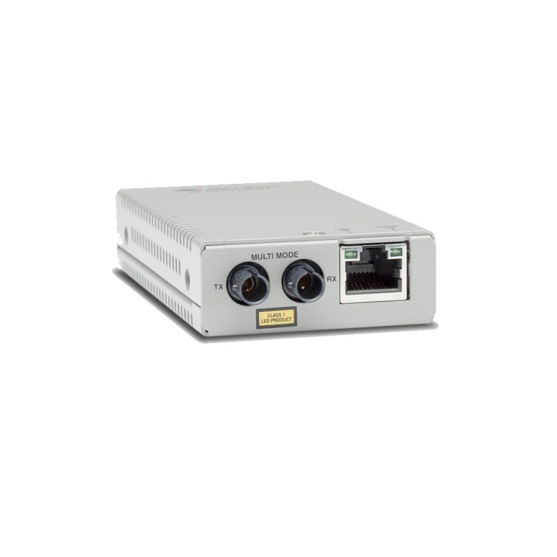 Allied Telisis TAA 10/100TX To 100X/ST SMODE Mini Media+ Rate Converter 10KM IN