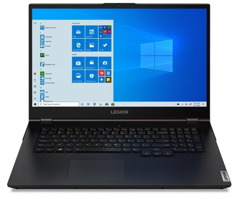 "Image of Lenovo Legion 5i Core i5 8GB 256GB SSD GTX 1650 17.3"" Win10 Home Gaming Laptop"