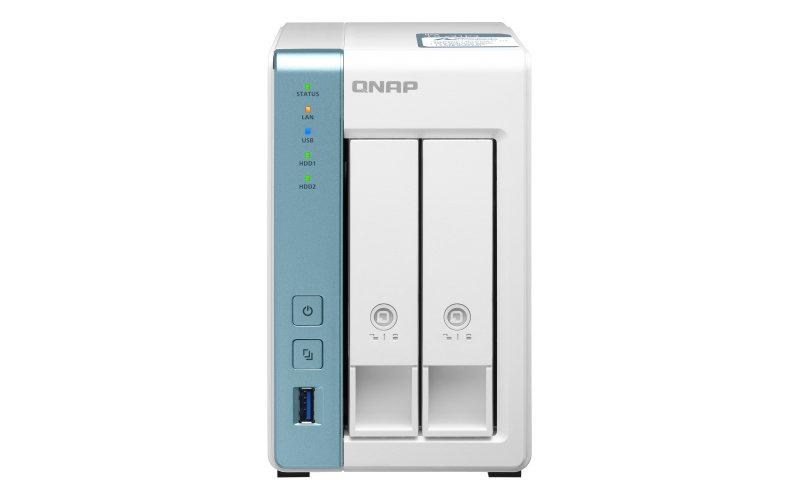 QNAP TS-231P3-2G/16TB-IW - 2 Bay - Ethernet LAN Tower - NAS Desktop