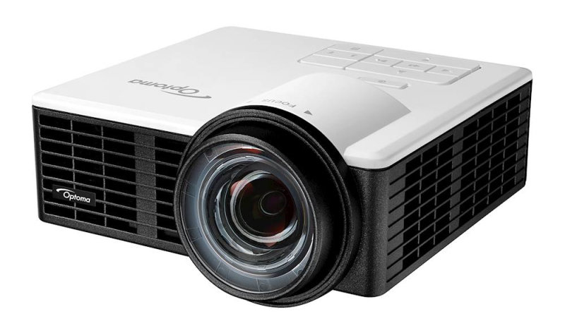 Optoma ML1050ST Data Projector - 1000 ANSI Lumens - DLP WXGA (1280x720