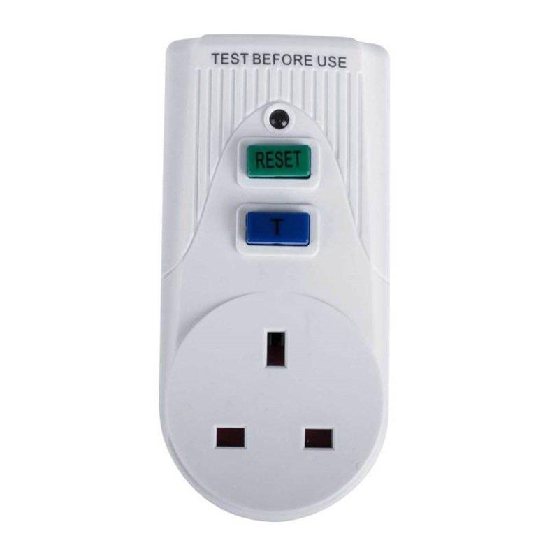 RCD Safety Plug White PB5000