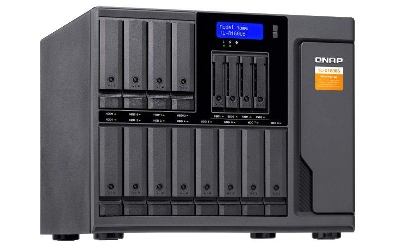 QNAP TL-D1600S - 16 Bay Desktop JBOD Storage Enclosure