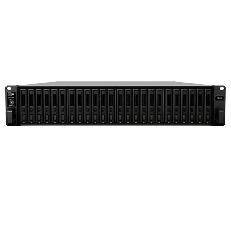 Synology FlashStation FS3400 - NAS Server - Rack-mountable 2U - 0GB