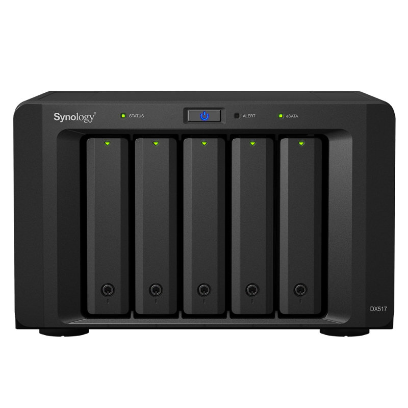 Synology DX517/15TB IW - 5 Bay Disk Array - 15TB NAS Expansion Unit