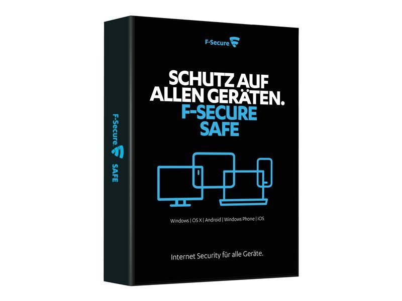F-Secure SAFE - Subscription Licence - 1 year - 10 Devices