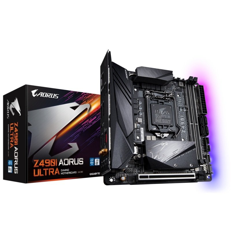 EXDISPLAY Gigabyte Z490I AORUS ULTRA DDR4 mITX Motherboard