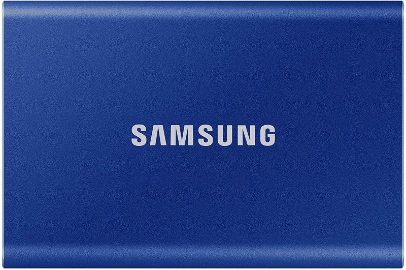 Samsung T7 Portable SSD - 1 TB - USB 3.2 Gen.2 External SSD Indigo Blue