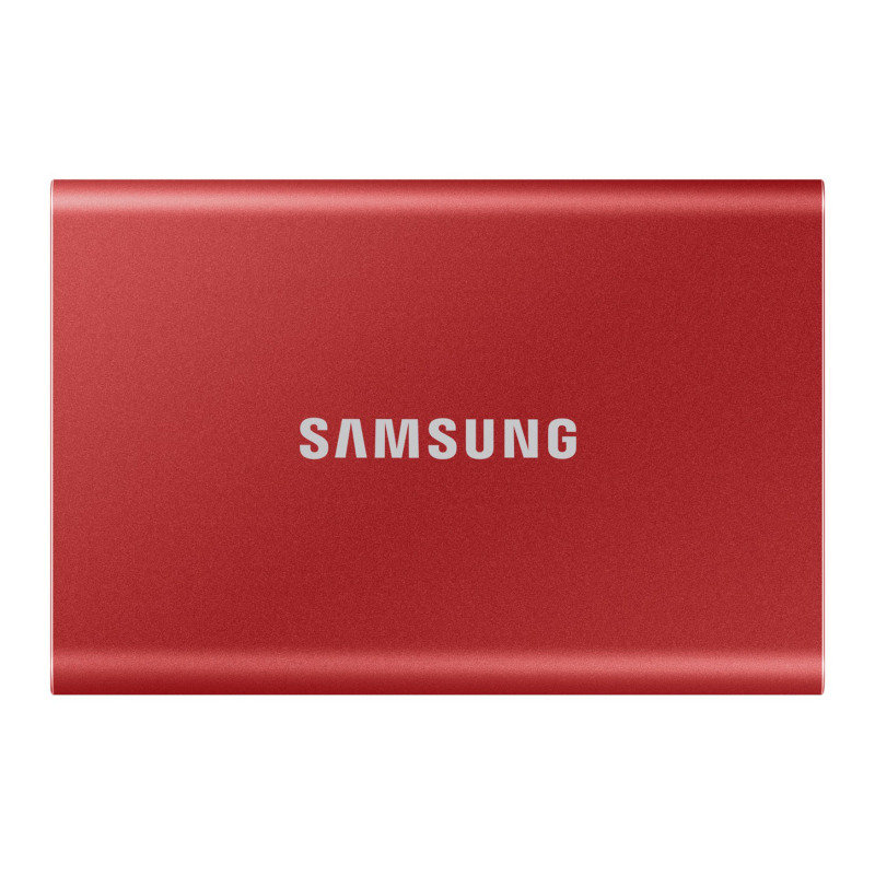 Samsung T7 Portable SSD - 1 TB - USB 3.2 Gen.2 External SSD Red
