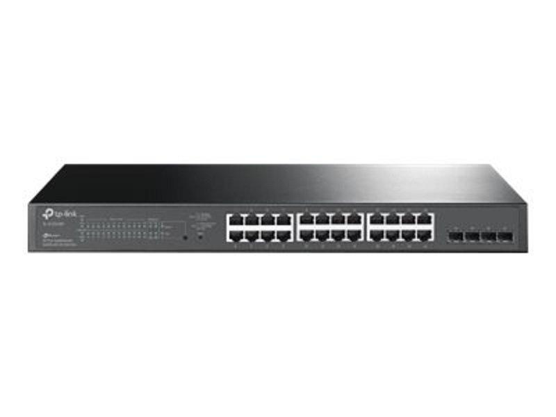 TP-Link JetStream TL-SG2428P 28-Port Gigabit Smart PoE Switch with 24-Port PoE+