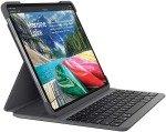Logitech Slim Folio Pro iPad Case with Wireless Bluetooth Keyboard (3rd Gen Ipads) - Black