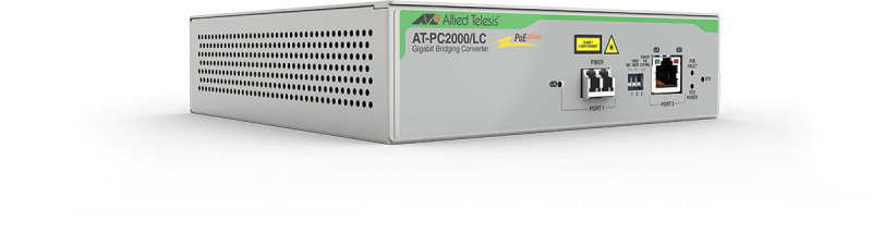 Allied Telesis AT-PC2000/LC-60 - Network Media Converter - 1000 Mbit/s - 850 nm