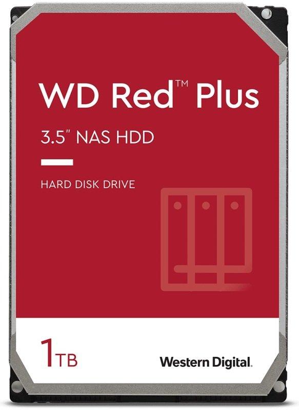 WD Red Plus 1TB 3.5 SATA NAS Hard Drive
