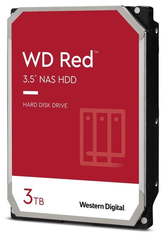 Hdd Desk Red 3TB 3.5 Sata 256MB