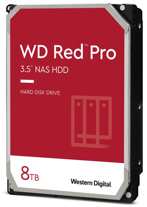 WD Red Pro 8TB NAS Hard Drive - (CMR)