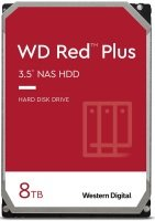"WD Red Plus 8TB 3.5"" SATA NAS Hard Drive - (CMR)"