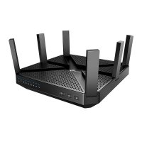 EXDISPLAY TP-Link AC4000 MU-MIMO Tri-Band Wi-Fi Router