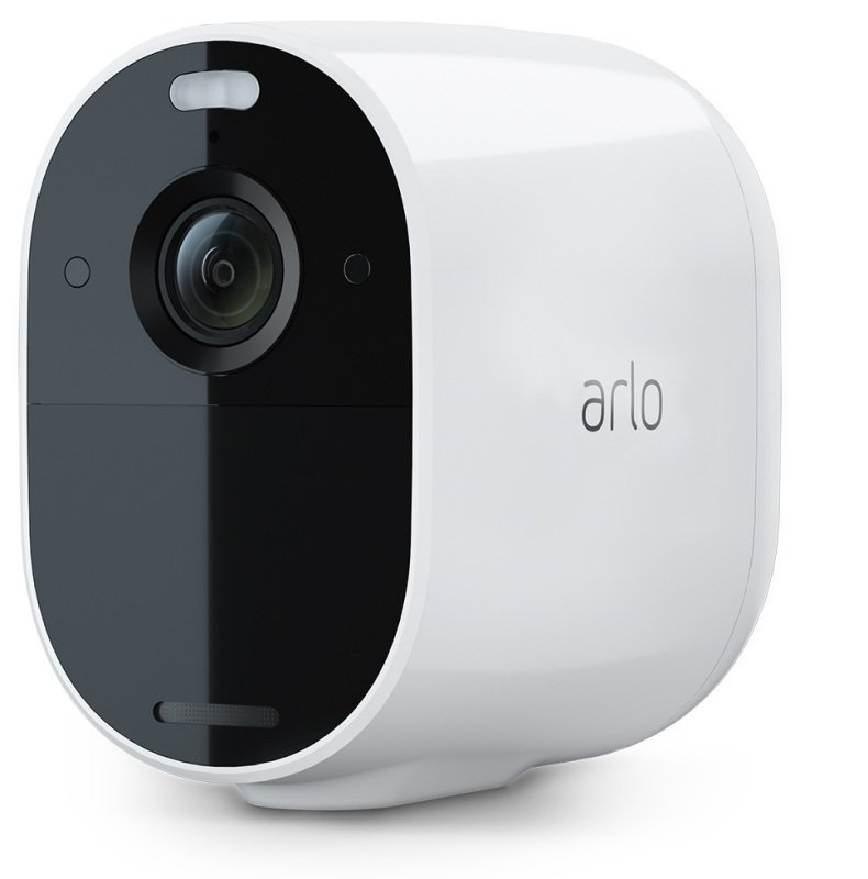 Image of Arlo Essential Spotlight CCTV Camera system   Wireless WiFi, 1080p Video, Color Night Vision, 2-Way Audio, 6-Month Battery Life, Motion Activated, Direct to WiFi, No Hub Needed, VMC2030
