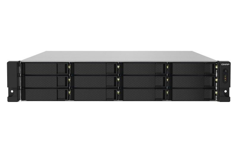 QNAP TS-1232PXU-RP-4G - 12 Bay Rack Enclosure - 4GB RAM