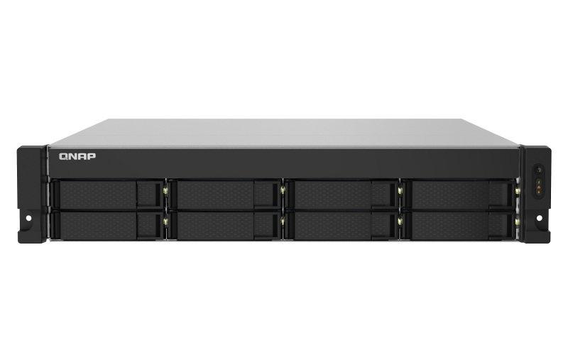 QNAP TS-832PXU-4G - 8 Bay Rack Enclosure - 4GB RAM