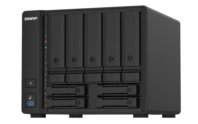 QNAP TS-932PX-4G - 9 Bay (5 + 4) Desktop NAS Enclosure - 4GB RAM