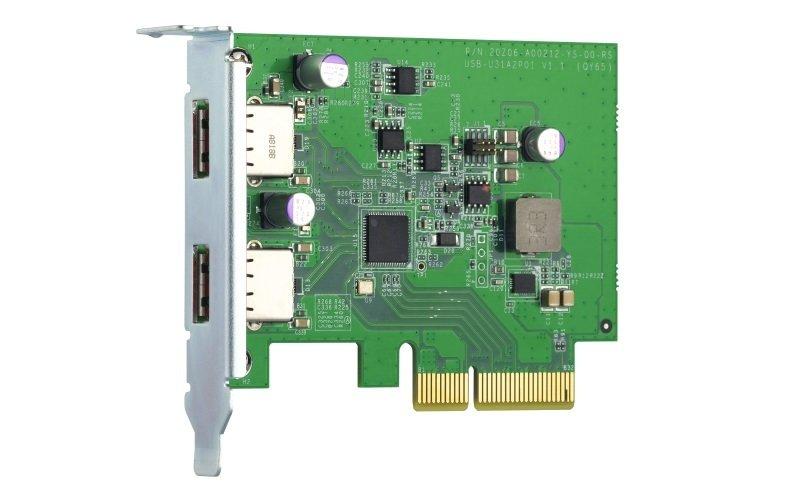 QNAP QXP-10G2U3A - USB 3.2 Gen 2 Expansion Card