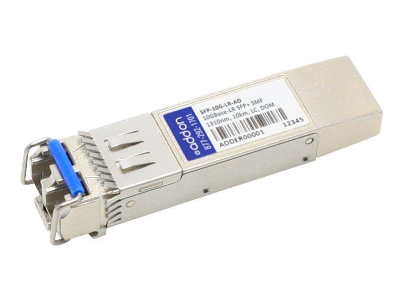 Image of AddOn Cisco SFP-10G-LR-AO - Compatible SFP+ Transceiver - SFP+ Transceiver Module - 10 GigE