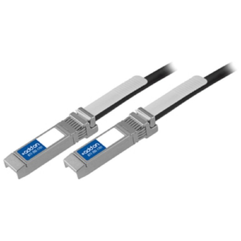 AddOn Networks - 10GBASE-CU, SFP+ 1m Twinaxial Network Cable for Network Device