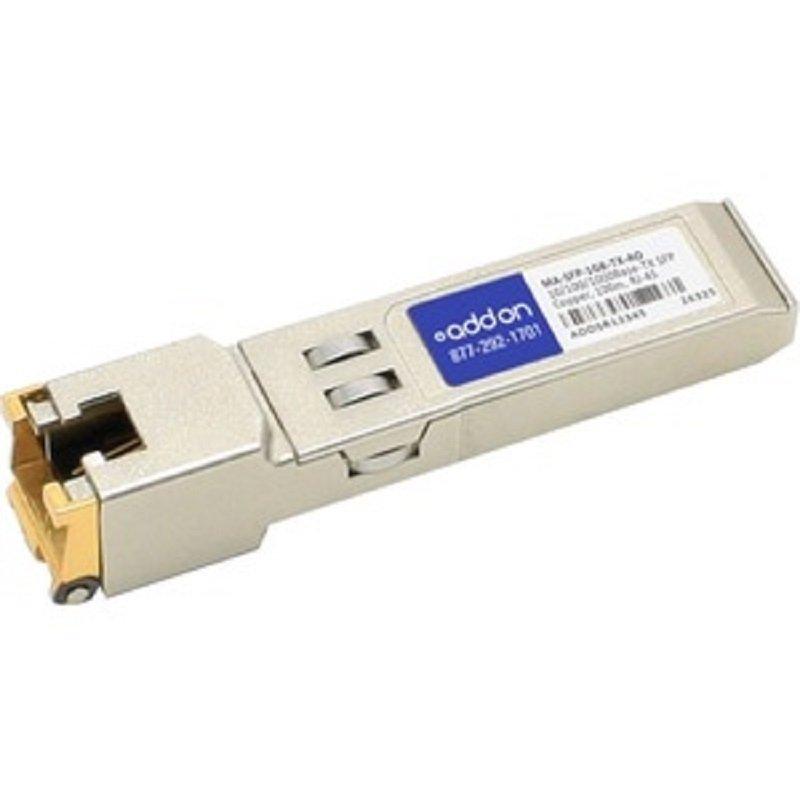 AddOn Networks MA-SFP-1GB-TX-AO - Network Transceiver Module Copper - 1000 Mbit/s