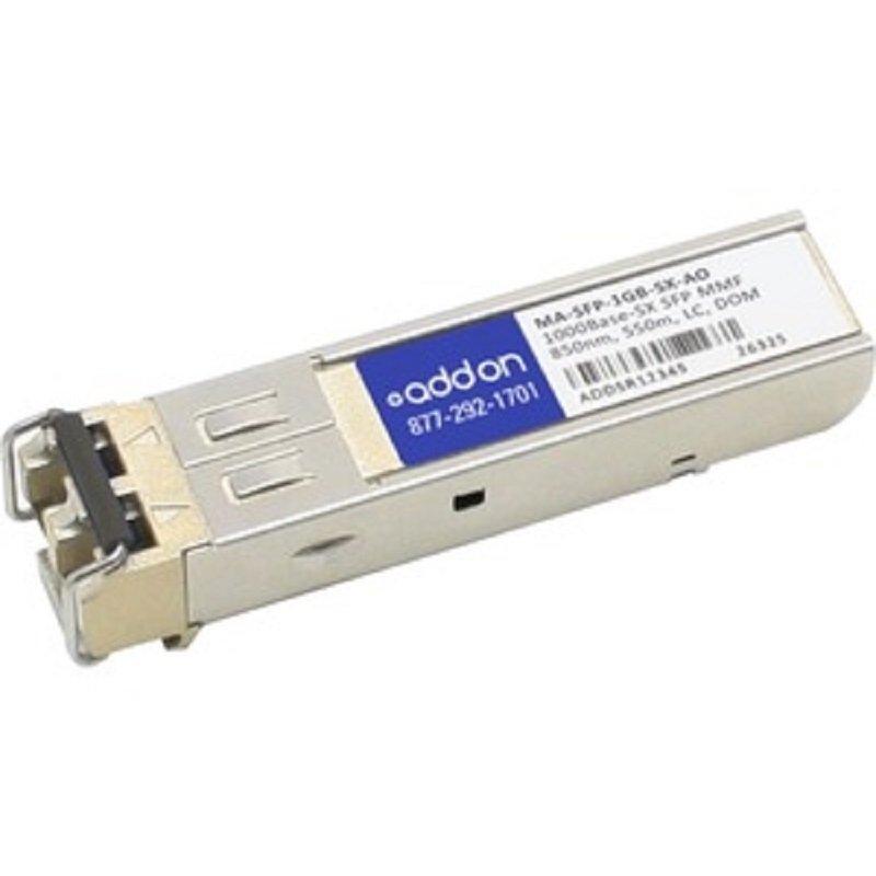 AddOn Networks MA-SFP-1GB-SX-AO - Network Transceiver Module - Fiber Optic - 1000 Mbit/s 850 nm