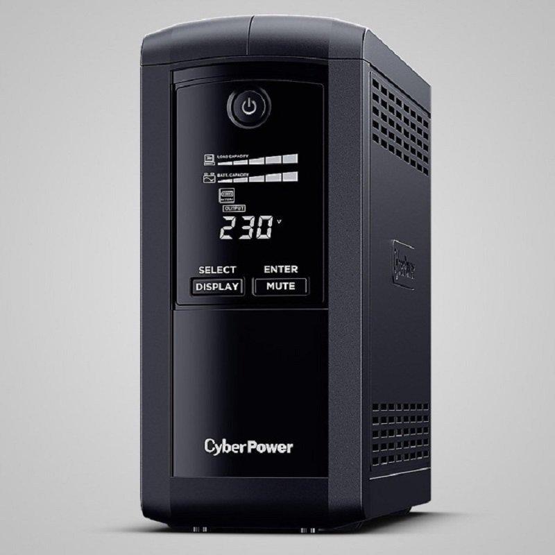 CyberPower Value Pro VP700EILCD Line-interactive UPS - 700 VA/390 W