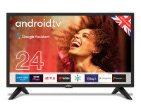 "Cello C2420G 24"" Smart Android TV with Google Assistant and Freeview Play"