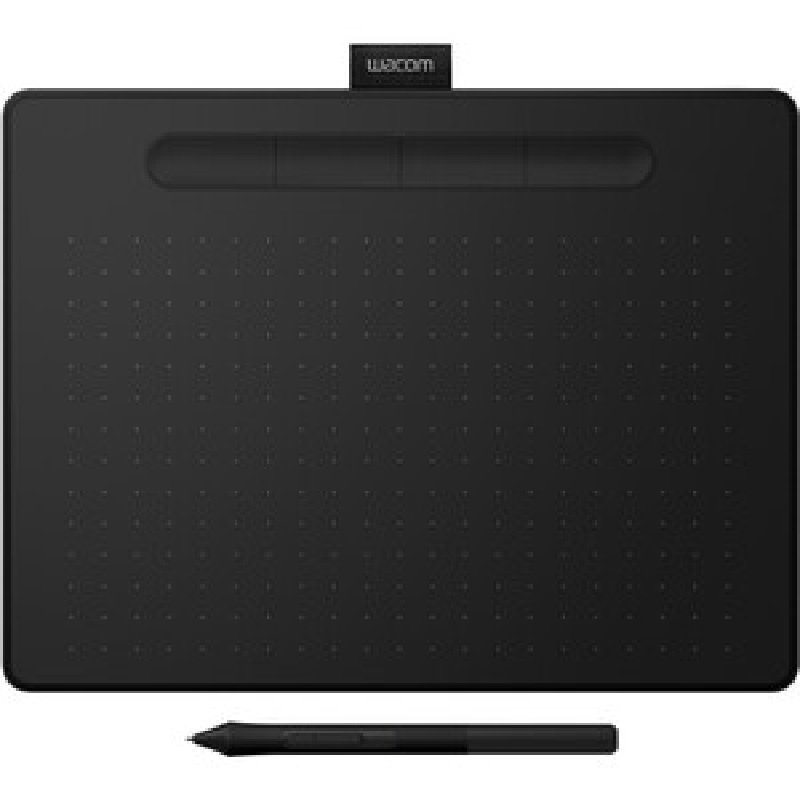Image of Wacom Intuos M CTL-6100WLK-S - Graphics Tablet - 2540 lpi - Wired/Wireless - Bluetooth